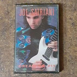 "Joe Satriani ""Dreaming #11"" Cassette Tape"